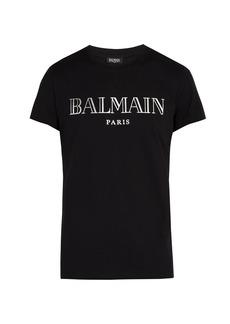 Balmain Balmain Paris logo T-shirt