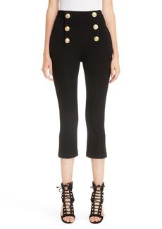 Balmain Button Crop Pants