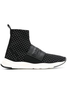 Balmain Cameron high top sneakers - Black