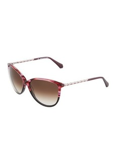 Balmain Cat-Eye Acetate Sunglasses