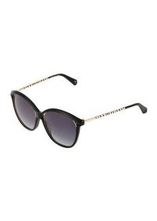 Balmain Cat Eye Thin Sunglasses
