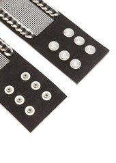 Balmain Chain and crystal-embellished waist belt
