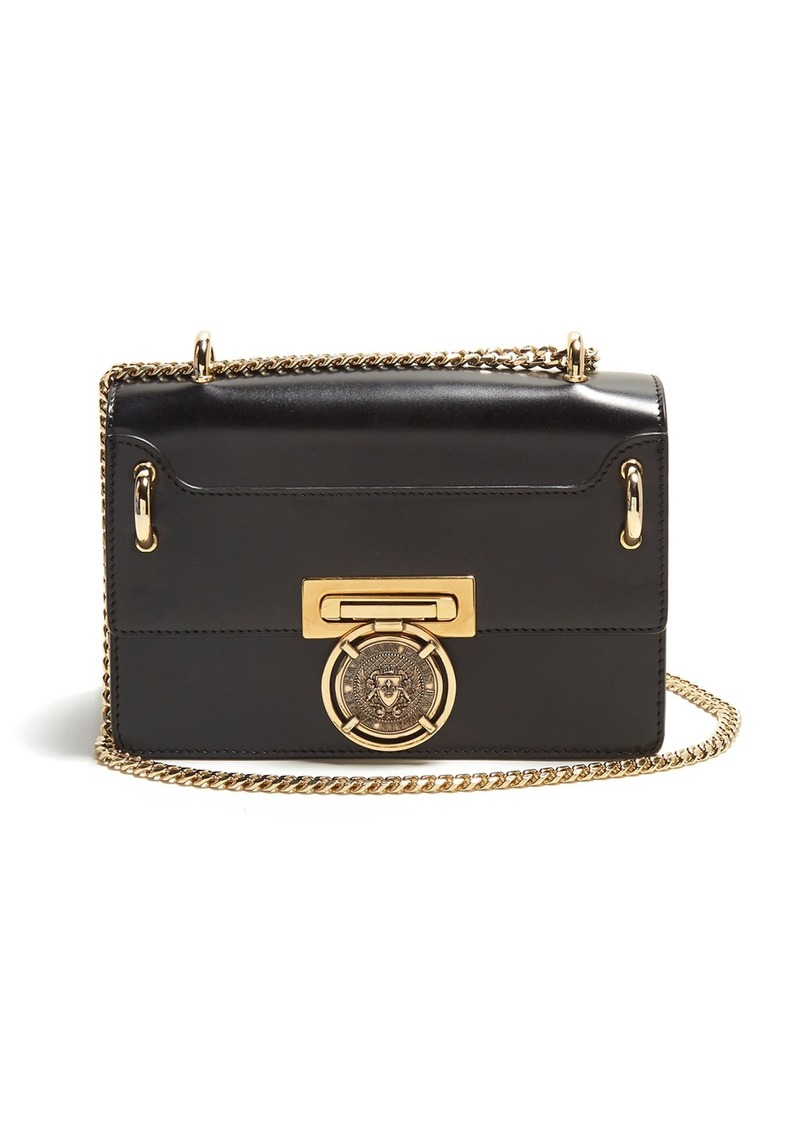 df65402b9c0 Balmain Balmain Coin-embellished leather bag