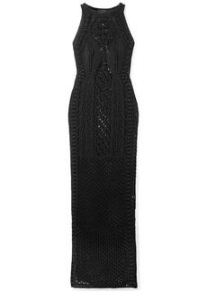 Balmain Crocheted Cotton Gown