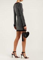 Balmain Crystal-embellished mini dress