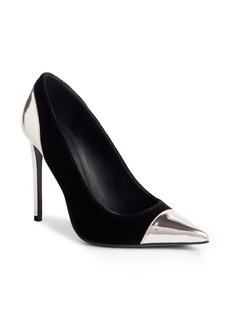 Balmain Daphne Cap Pointy Toe Pump (Women)