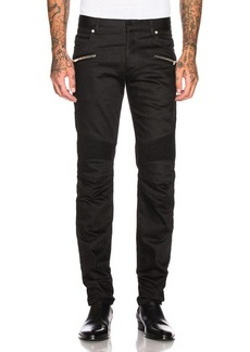 BALMAIN Embroidered Jeans