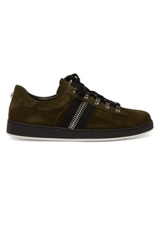 Balmain Eric low-top suede trainers