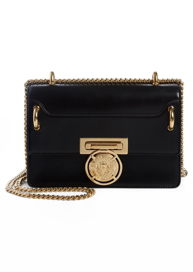 6ed910fe9d5 On Sale today! Balmain Balmain Glace Leather Box Shoulder Bag