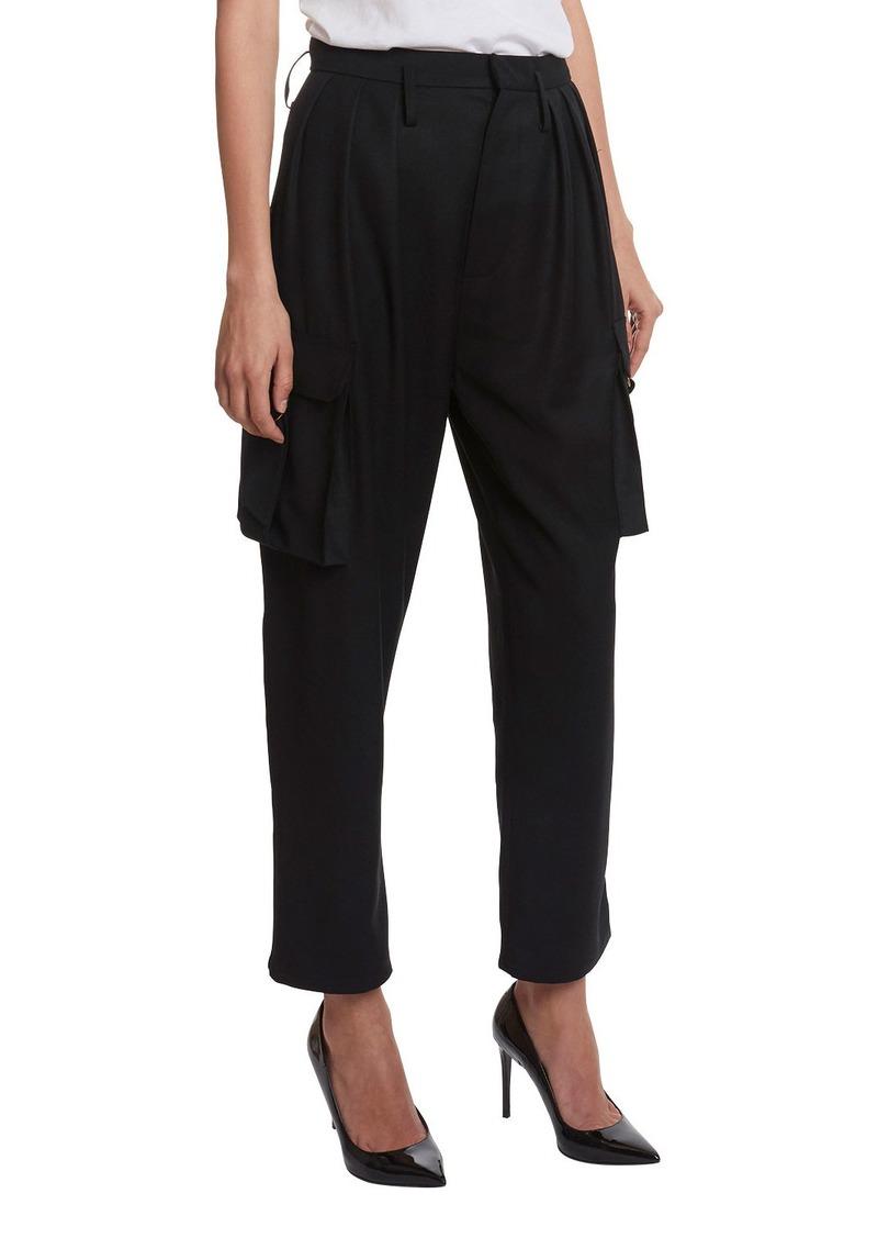Balmain High-Rise Cargo Pants