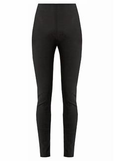 Balmain High-rise skinny-leg trousers