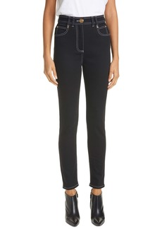 Balmain High Waist Skinny Jeans (Noir)