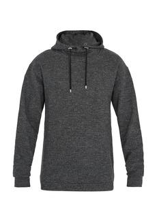 Balmain Hooded wool-jersey sweatshirt