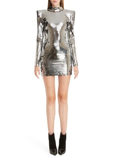 Balmain Jersey Disco Dress