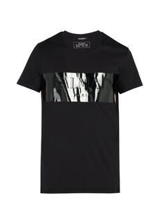 Balmain Laminated logo T-shirt