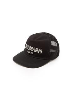 Balmain Logo cotton cap