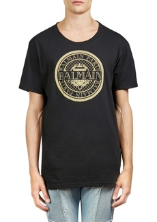 Balmain Logo Cotton Tee