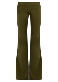 Balmain Low-rise kick-flare jeans