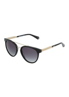 Balmain Marbled Cat-Eye Plastic Sunglasses