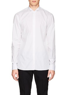 Balmain Men's Cotton Poplin Wingtip Shirt