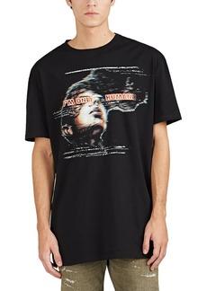 "Balmain Men's ""I'm Only Human"" Cotton Oversized T-Shirt"