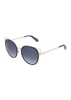 Balmain Metal Cat-Eye Sunglasses