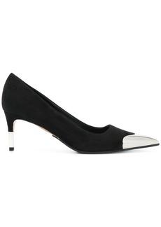 Balmain metallic toe pumps - Black