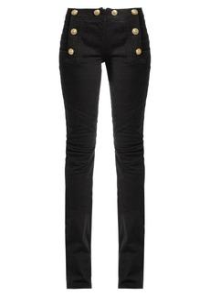 Balmain Mid-rise kick-flare jeans