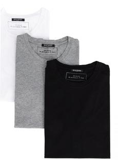 Balmain Pack of 3 T-shirts