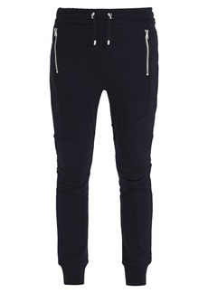 Balmain Panelled cotton track pants