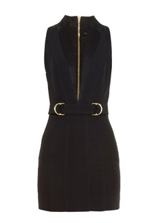 Balmain Plunging V-neck mini dress