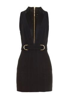 Balmain Plunging V-neck mini dress