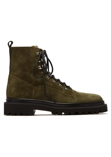 Balmain Ranger suede boots