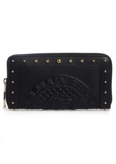 Balmain Renaissance Leather Continental Wallet