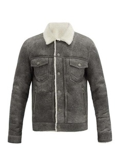 Balmain Shearling overshirt jacket