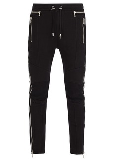 Balmain Side zip track pants