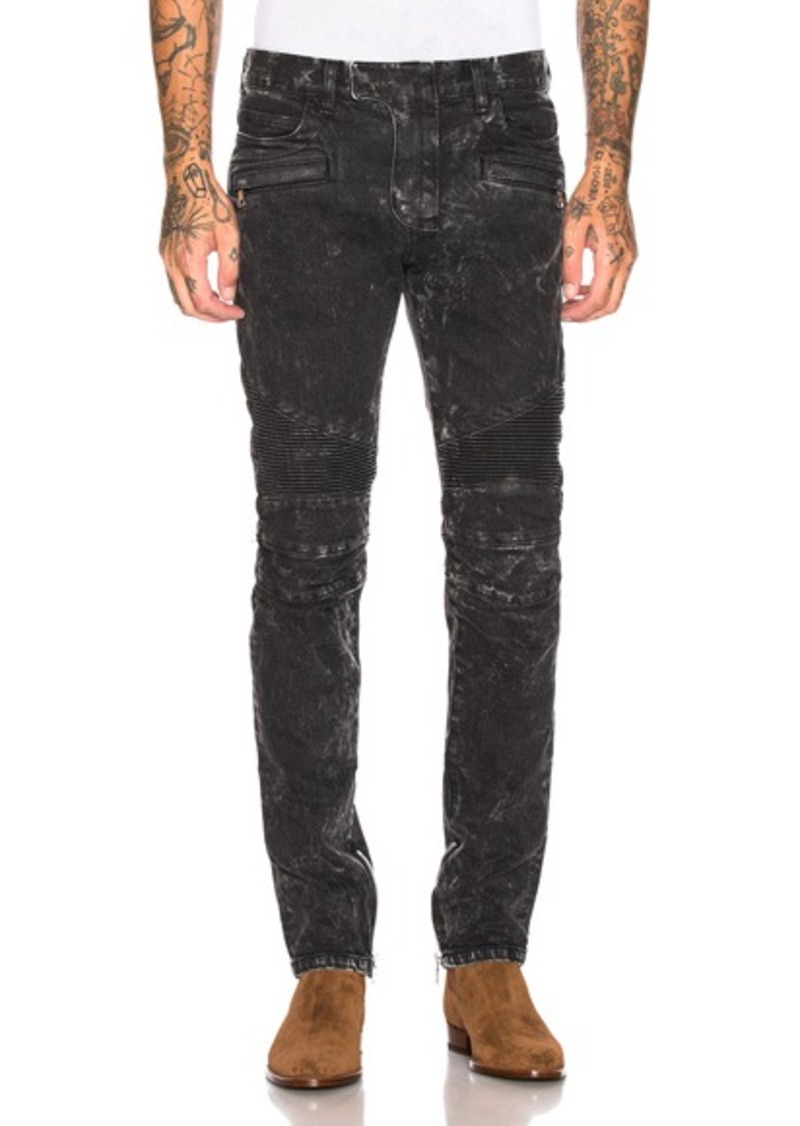 a387e66fb8ae6a Balmain BALMAIN Skinny Biker Jeans | Jeans