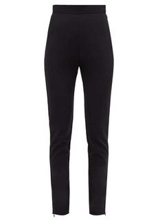 Balmain Slim-fit wool-blend trousers