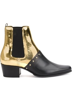 Balmain studded ankle boots - Multicolour