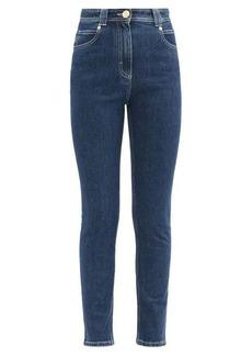 Balmain Topstitched slim-leg jeans
