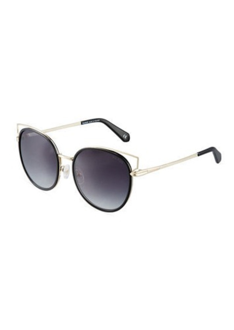 e207d021aaf5a Balmain Balmain Two-Tone Cat-Eye Sunglasses