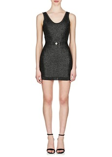 Balmain Women's Belted Tank Dress