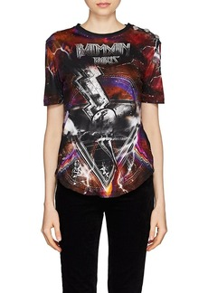 Balmain Women's Galaxy-Print Cotton Jersey T-Shirt