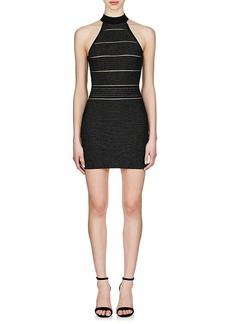 Balmain Women's Metallic Sleeveless Dress