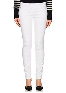 Balmain Women's Slim Moto Jeans