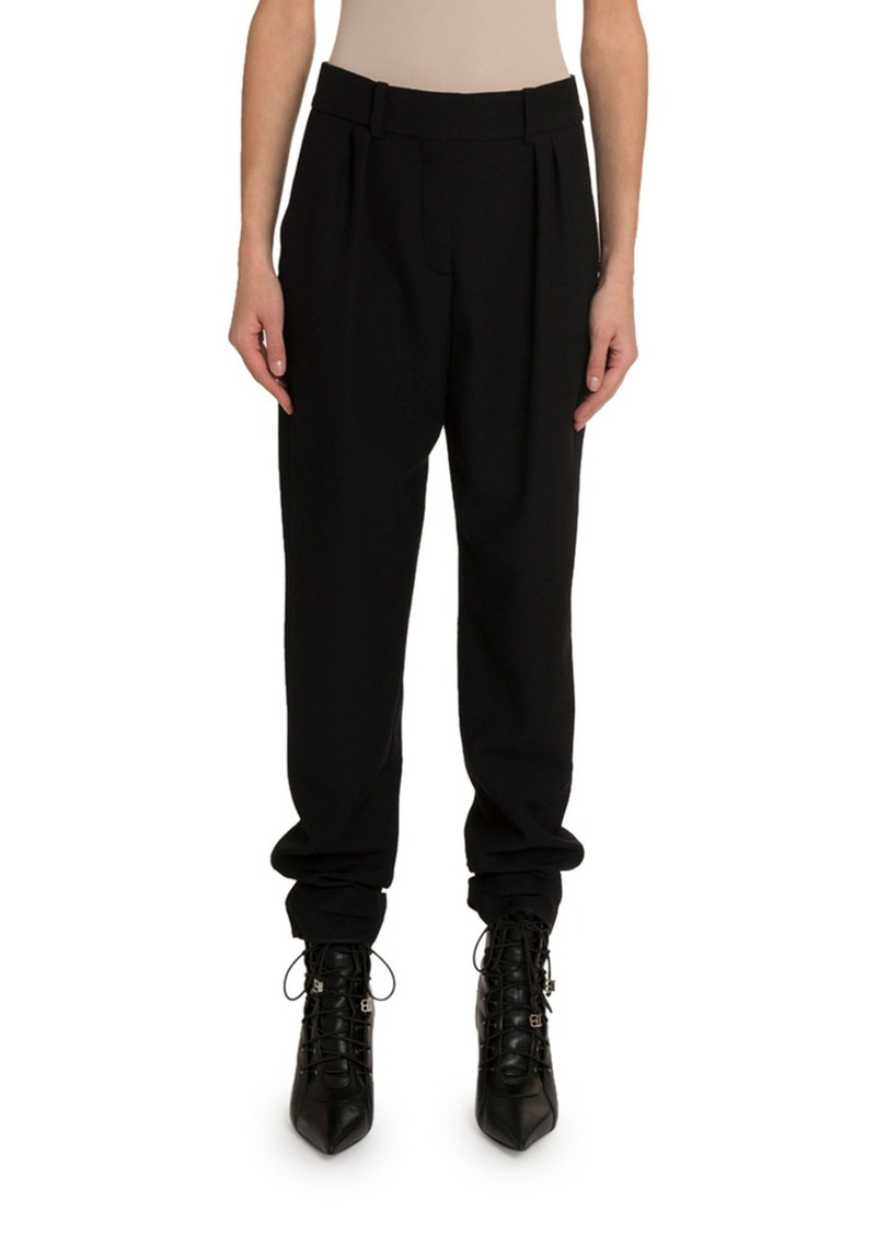 Balmain Wool Cigarette Pants