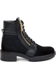 Balmain zip detail boots - Black