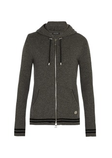 Balmain Zip-through cashmere sweater