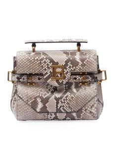 Balmain BBuzz 23 Python Shoulder Bag