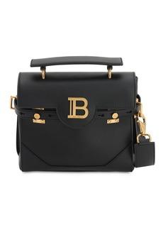 Balmain Bbuzz23 Leather Shoulder Bag